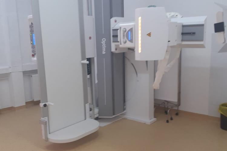 Laboratorul de Radiologie din cadrul Spitalului clujean de Recuperare a fost renovat - FOTO
