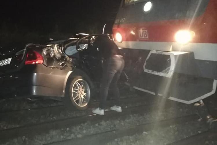 Accident de tren la Jucu - FOTO