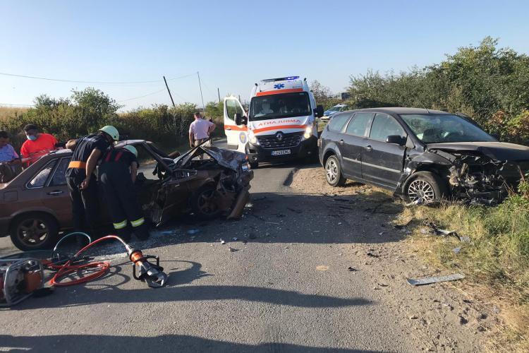 Accident mortal pe un drum din Cluj! O femeie și-a pierdut viața FOTO