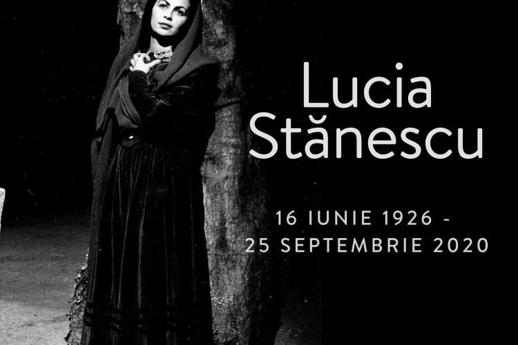 S-a stins din viață soprana Lucia Stănescu, de la Opera Națională Română din Cluj-Napoca