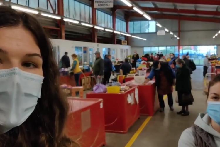 Consilierul local Alexandra Oană: Piețele agroalimentare se închid, iar supermarketurile vor fi mai aglomerate - VIDEO
