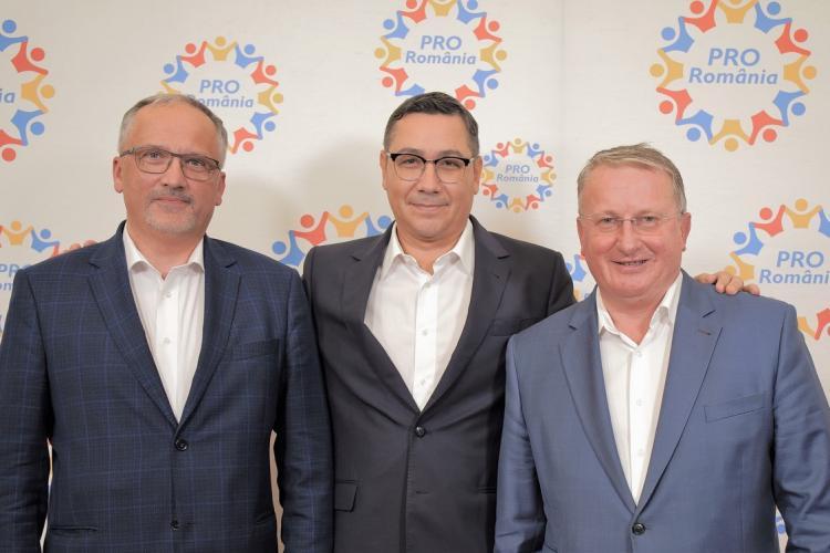 """PRO România Cluj: """"Ieșirea din criză e prioritatea noastră. Ieșim din criză și apoi construim!"""""""