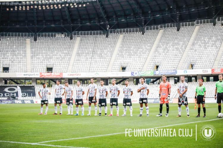 Cei 23 de jucători și membri ai staff-ului U Cluj cu COVID au făcut o formă ușoară