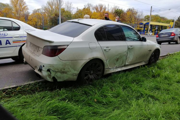 Accident pe strada Oașului cu o victimă - FOTO