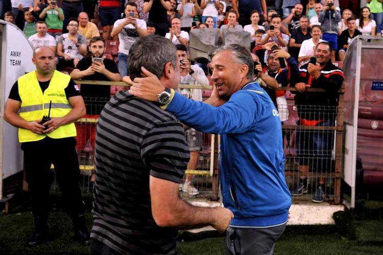 Mesajul de laudă al lui Gică Hagi după victoria CFR Cluj în fața CSKA Sofia: Cu Dan Petrescu se poate orice!