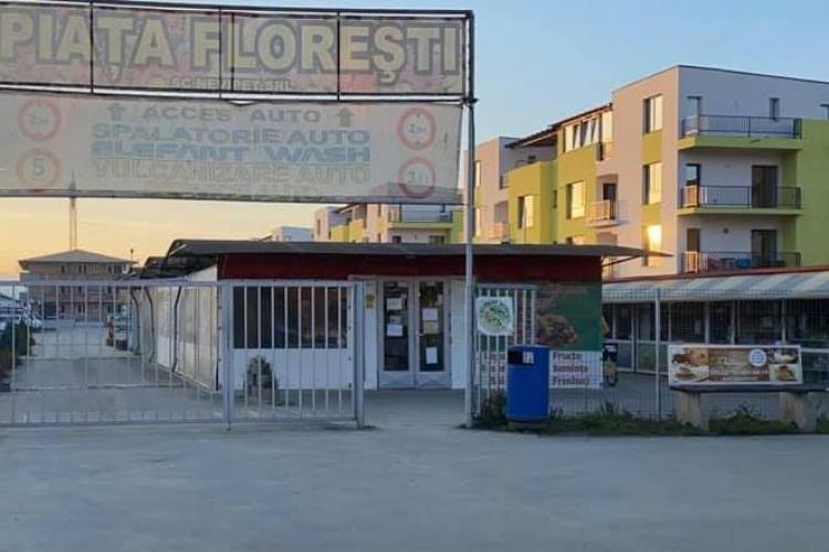 Piața agroalimentară din Florești rămâne deschisă - FOTO