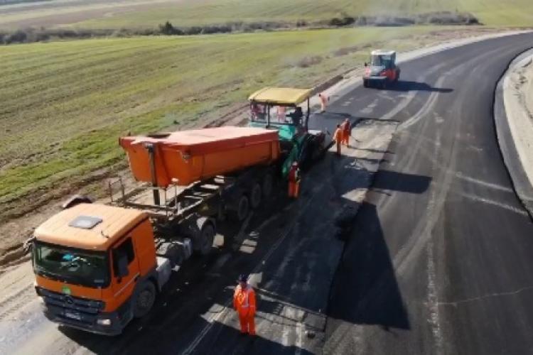 Ministrul Transporturilor: Vrem să recepționăm anul acesta încă 43 km de autostradă
