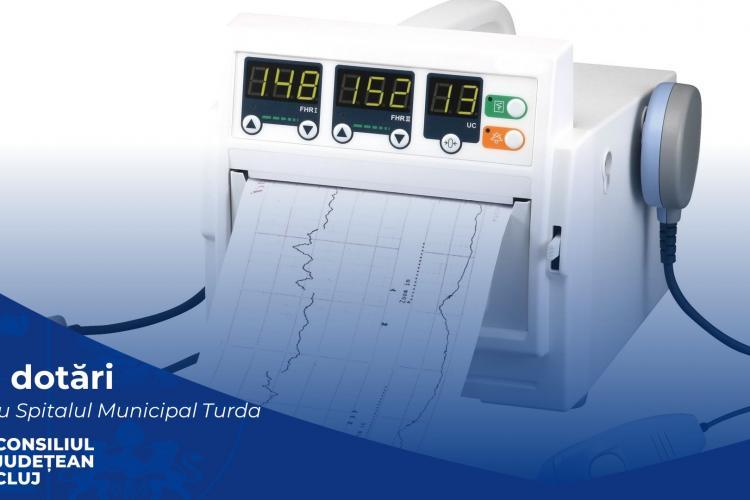 Spitalul din Turda primește aparatură medicală nouă