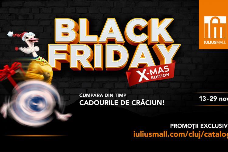 Un super Black Friday te așteaptă la Iulius Mall Cluj: trei weekend-uri cu reduceri de până la 80%!