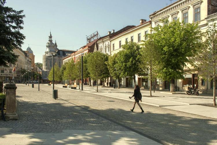 Când se vor elimina complet mașinile din centrul Clujului