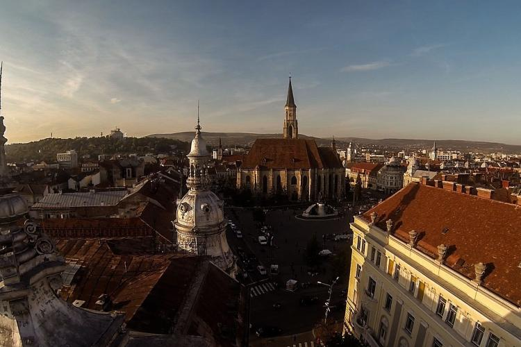 Studiu: Clujul, în topul celor mai poluate orașe cu NO2 din Europa