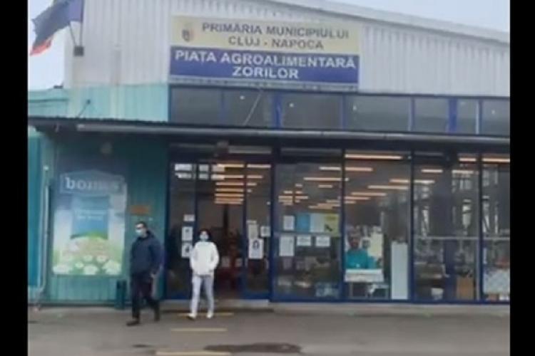 Piețele agroalimentare din Cluj-Napoca nu se închid. Ce explicații a dat primarul Emil Boc - VIDEO