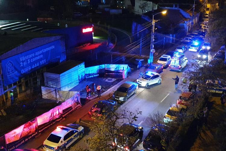 Femeie înjunghiată în picior de concubin pe strada Scorțarilor, din Cluj-Napoca - FOTO