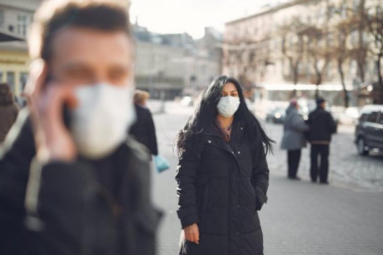 În Gherla, Câțcău și Sic masca este obligatorie și pe stradă