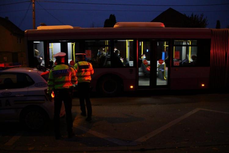 Controale de amploare în trafic, la Cluj-Napoca. Câte amenzi s-au dat în doar două ore FOTO