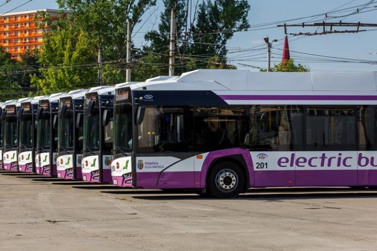 CTP Cluj: Se suplimentează numărul mijloacelor de transport în comun, de Luminație