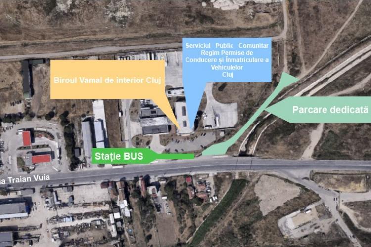 CLUJ: Serviciul de Permise și Înmatriculare a Vehiculelor se mută în sediul din Someșeni