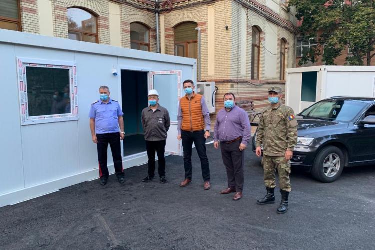 Se înființează 8 noi stații de triaj pentru bolnavii de COVID-19 la Cluj