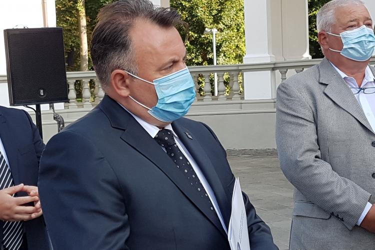 Nelu Tătaru la Cluj: Creștem numărul paturilor de terapie intensivă și pentru cazurile medii