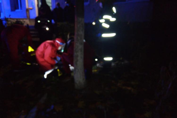 Un bărbat s-a aruncat de la etajul 8 în Mănăstur. A murit pe loc FOTO
