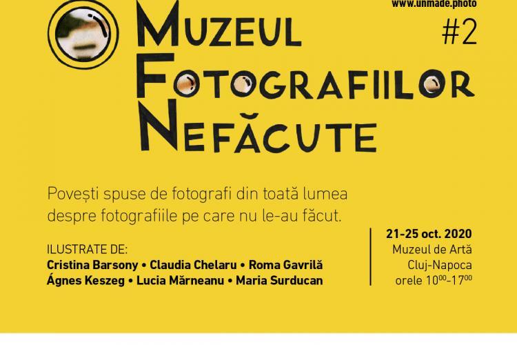 A doua ediție a Muzeului Fotografiilor Nefăcute are loc la Cluj-Napoca