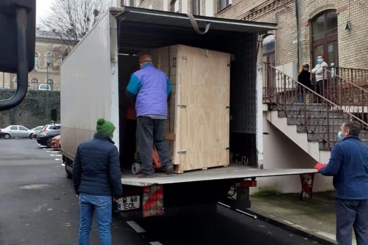 Instalație de sterilizare cu abur, în valoare de 400.000 de lei, donată Spitalului de Urgență Cluj