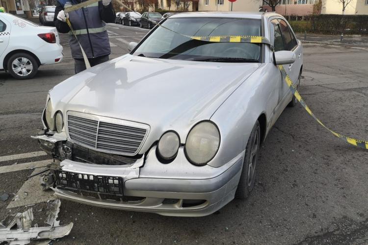 Accident în Mărăști. Un clujean de 64 de ani a ajuns la spital FOTO
