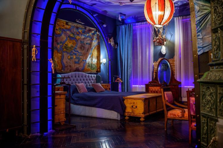 Cum arată cel mai luxos și fantezist apartament din Cluj! Se poate închiria - FOTO