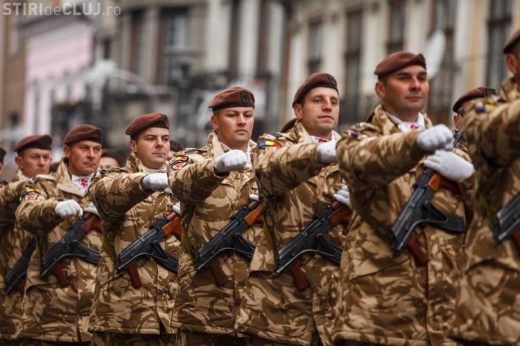 Ceremonie militară dedicată Zilei Naționale a României la Cluj-Napoca, fără public