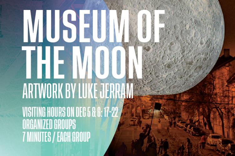 Super Luna expusă la Cluj a fost mutată! Unde se poate vizita de acum