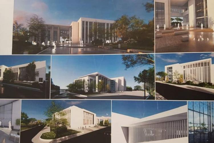Proiectul CENTRULUI CULTURAL MULTIFUNCTIONAL Florești a fost depus la Compania Națională de Investiții