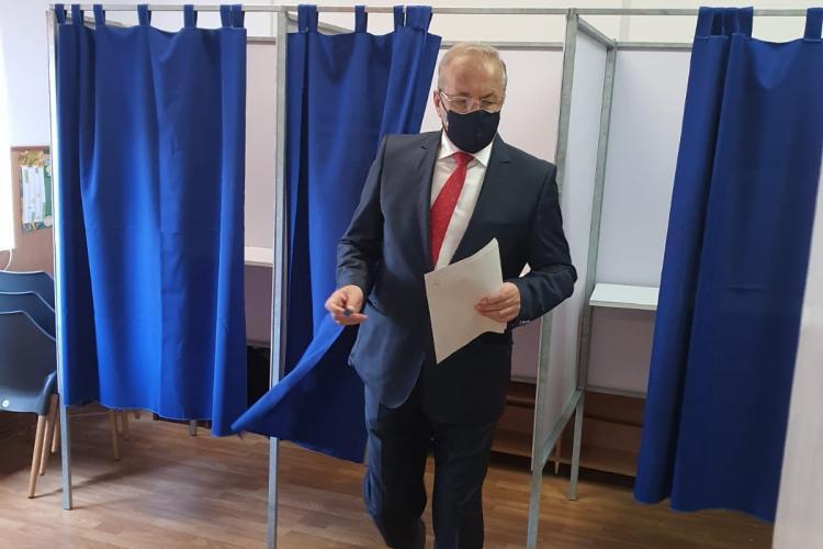 """Vasile Dâncu a votat: """"Vrem să terminăm, în sfârșit, Autostrada Transilvania. Vrem descentralizare și bani mai mulți în local"""""""