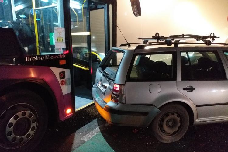 Accident cu victime în Bună Ziua, cauzat de un șofer de autobuz FOTO