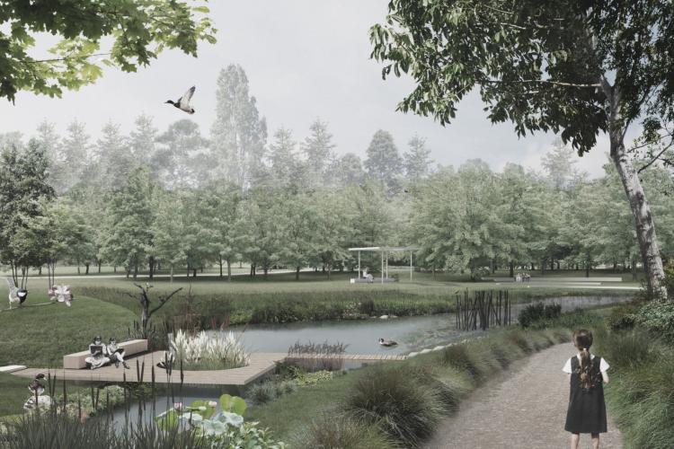 Licitație pentru amenajarea Parcului Feroviarilor. Se promit două lacuri, zone de sport și de relaxare pe malul Someșului