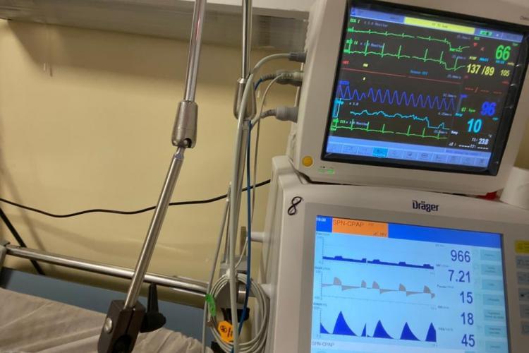 Mărturia cutremurătoare a unui medic clujean, despre fricile pe care le-a trăit în spital când a avut Covid-19