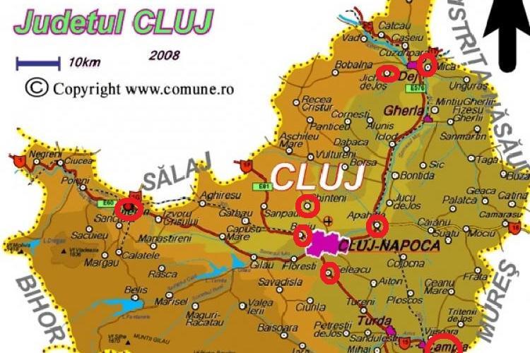 În Câmpia-Turzii, Huedin, comunele Feleacu, Apahida, Baciu, Chinteni, Mica și Jichișu de Jos se menține scenariul roșu COVID