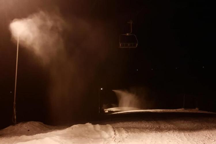 Pârtia de la Mărișel se pregătește pentru schiori. Ce prevede legislația COVID - FOTO