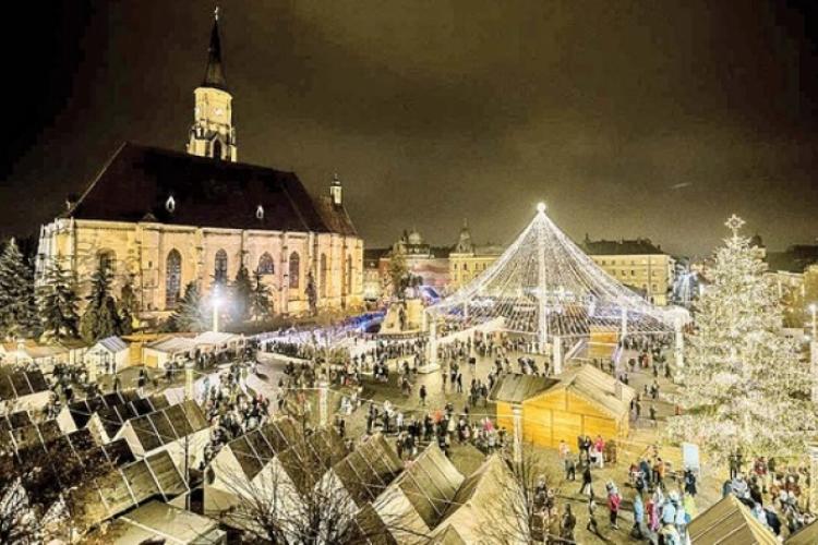 Târgul de Crăciun din Cluj nu are loc. De ce a cerut Boc rezilierea contractului