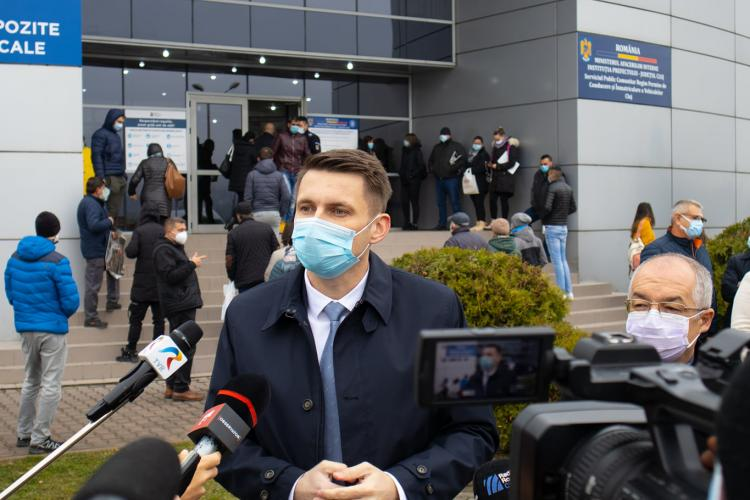 Prefectul Clujului, Mircea Abrudean: Deschiderea noului Serviciu de Permise și Înmatriculări a fost o prioritate a mandatului meu