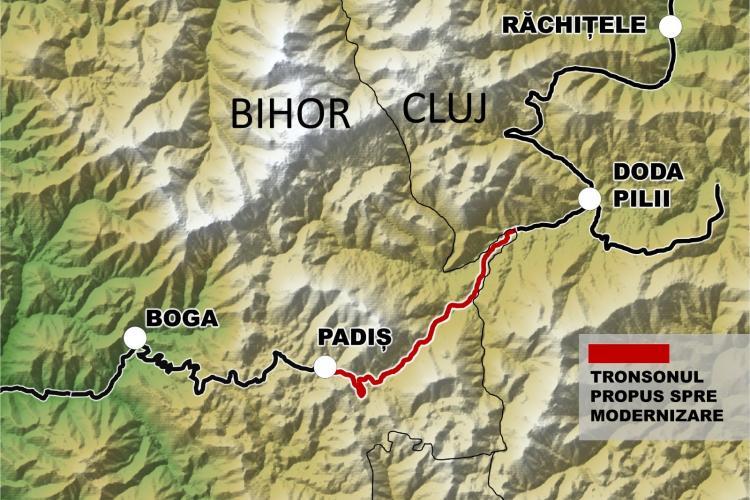 Bolojan leagă Bihorul de Cluj prin Apuseni pe un superb drum montan
