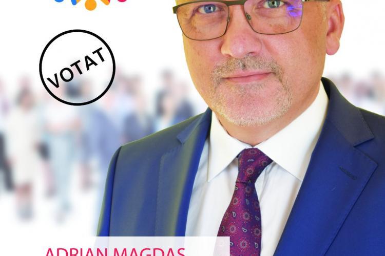 """Adrian Magdaș, PRO România: """"Candidez pentru că vreau să-i reprezint pe cei care conștientizează importanța educației pentru viața unui om"""""""
