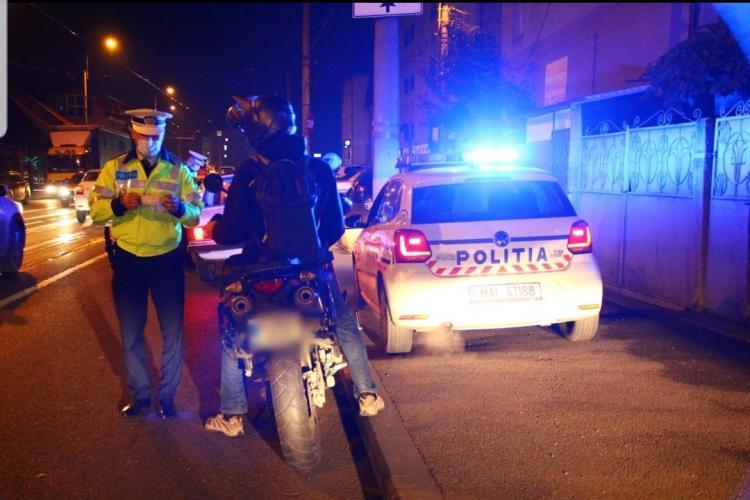 Razie de noapte la Cluj! Câte persoane au fost amendate pentru că au ieșit din casă după ora 23:00