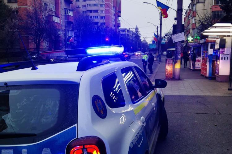 Razii de amploare la Cluj-Napoca pentru combaterea răspândirii COVID-19. Câte amenzi s-au dat FOTO