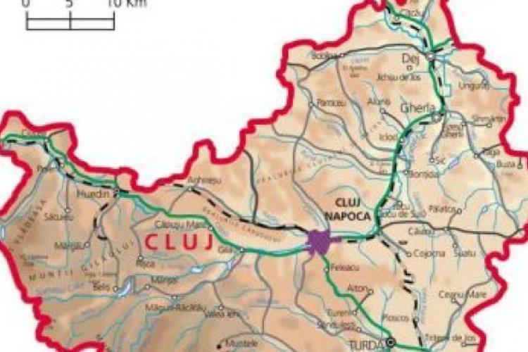 Incidența cazurilor de COVID-19 în principalele orașe din județul Cluj: Cluj-Napoca, Dej, Gherla, Turda, Câmpia Turzii, Huedin