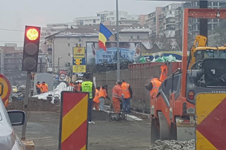1 Decembrie în trafic pentru locuitorii din Baciu - VIDEO și FOTO