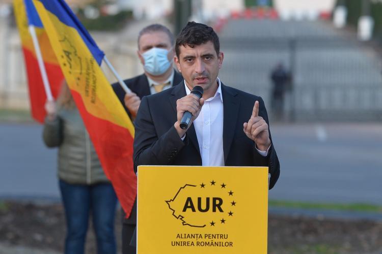 Aproximativ 15.000 de români s-au înscris în AUR, la 24 de ore după alegeri