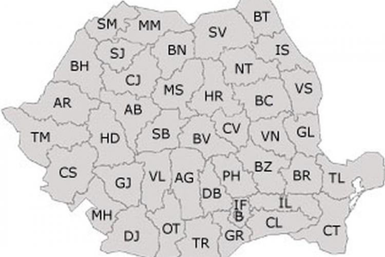 Clasamentul județelor cu cele mai multe cazuri noi de Covid-19. Clujul nu se mai află în top