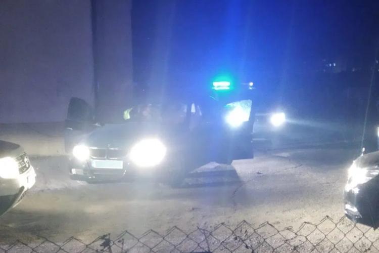 BMW urmărit de poliție în Florești. Doi puști de 17 ani au fost reținuți