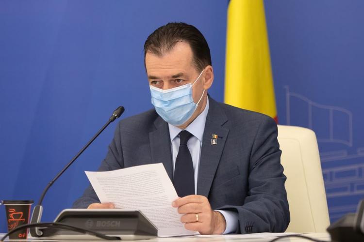 Premierul Ludovic Orban amendat de Tribunalul Cluj pentru că nu pune în aplicare o sentință
