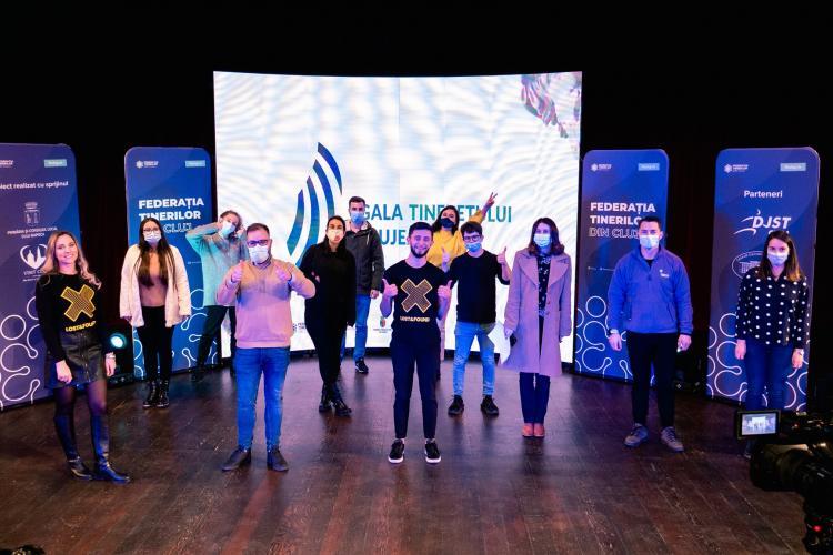 Cele mai bune proiecte pentru tineri premiate la Gala Tineretului Clujean 4.0